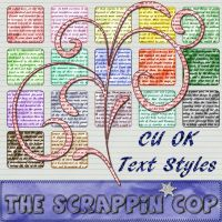 Text Layer Styles by debh945