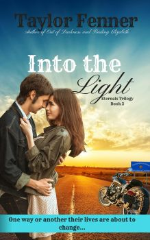 Into the Light Book Cover by TaylorFenner