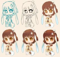 Step by Step Chibi by NoizRnel
