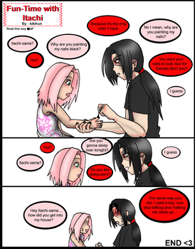 Fun Time with Itachi by kikikun