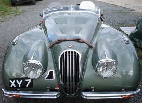 Jaguar XK120 Roadster by discoman41