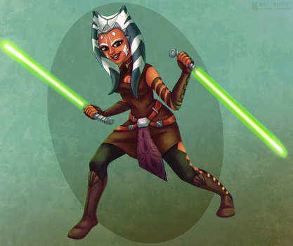 Ahsoka Tano by SilverSkittle