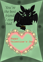 Toothless V-Day card by Inuranchan