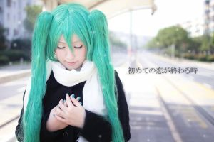 The end of first love  by Hatsune Miku by nozomiwang