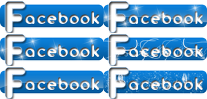 Facebook Icons by alexandreperei