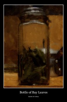 Bottle of Bay Leaves by LAPSTER44