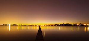 The Jetty and The Bridge by MarkLucey