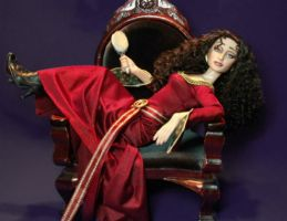 Mother Gothel Doll Repaint by ShannonCraven
