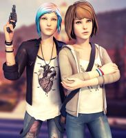 Life is Strange - Max and Chloe by ICYCROFT