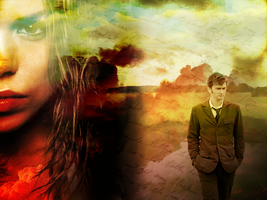 Ten and Rose Wallpaper by Carly23