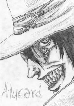 Alucard from Hellsing by RevoltArtwork