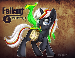Fallout Equestria: Velvet Remedy by Sciggles