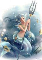 The mermaid by Furea93