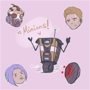Minions! by Cuineth
