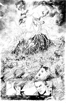 DOC SAVAGE RING OF FIRE 1.2 pencils by Dave-Acosta