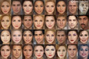 Real Disney Character Faces by Avalonis