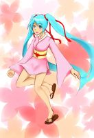 Matsuri Miku by Melody-in-the-Air