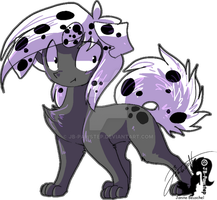 Sphinx Dalmatian - Sticker by JB-Pawstep