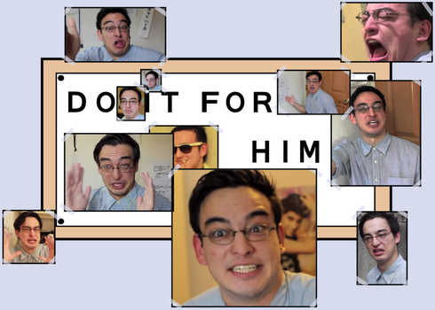 Filthy Frank : Do It For Him Meme thing by MG46-art