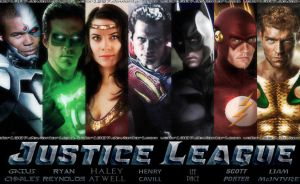 Justice League movie banner by Valor1387