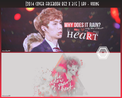 [2014 Lay ] PSD Cover Facebook by @Baozicutie by MinHuy1502