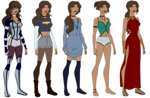 Star's Outfits by GothamTaco