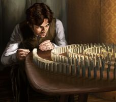 Being Human: Dominoes by bollatay