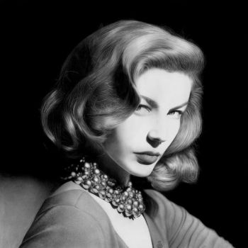 Lauren Bacall by Stanbos