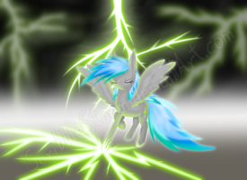 She is the Stormcloud. The Scribble Stormcloud. by screbel
