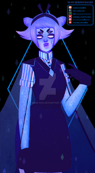 Holly Blue Agate + Aquamarine Fusion by H0nk-png