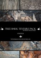 tree bark texture pack by parker-stock