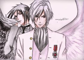 Angel and Demon - Black Butler by amazinglife2011