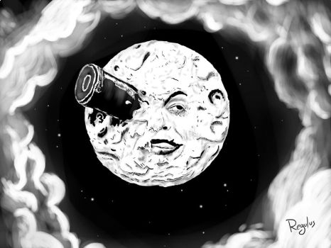 My tribute to Georges Melies by r3gulus