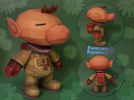 Olimar by Paperlegend