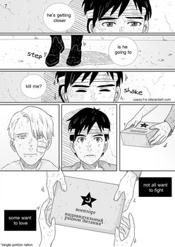 Yuri on Ice Doujinshi - A Dying Memory Page 7 by Cassy-F-E
