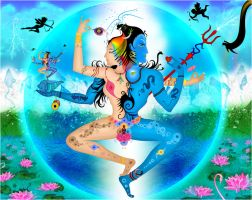 Together in eternal divinity : by BudhuFakir