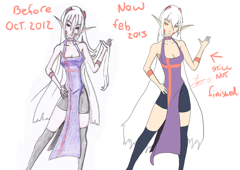 before and after ^_^ by AzrealsArt