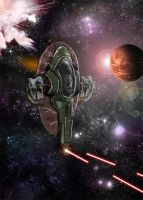 Slave I by MacabreHeretic