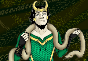 Loki - Agent of Asgard - Background by Clar-isima