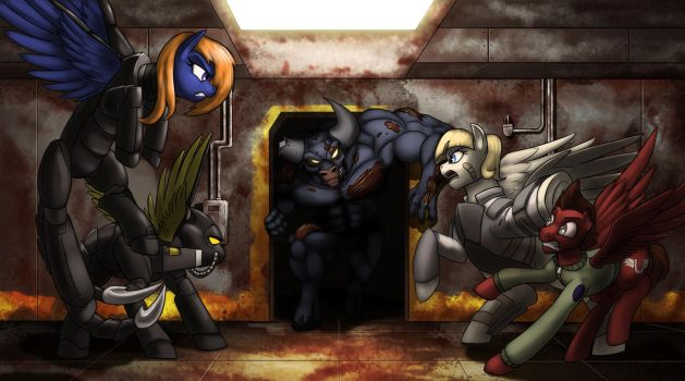 (com)-Stable Showdown by MisterMech