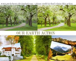 Our earth action by puckrietveld