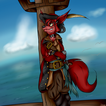 The Pirate has Returned by SternNightGuard