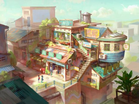 Shops concept by FeiGiap