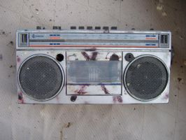 radio cassette - one by ral-stock