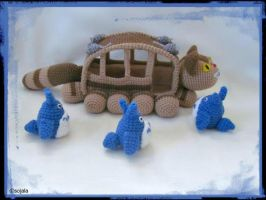 No Room On The Bus Totoro and Cat Bus film by sojala