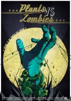 Plants VS Zombies - Poster by yolkia