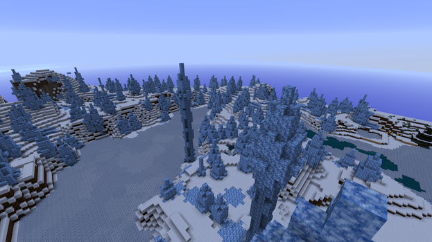 Towers of ice (2) by BourbonReaper