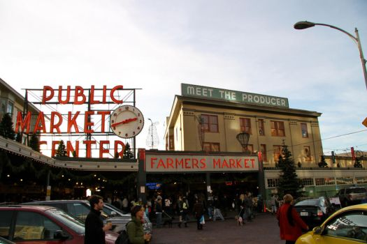 Pike Place Market by cznonamealbum