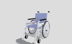 MMD Wheelchair by amiamy111
