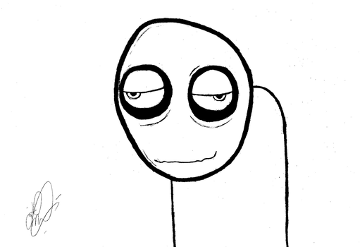 Just a random Salad Fingers by DDMarques